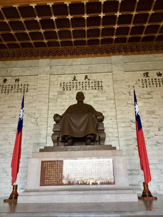 Chiang Kai-shek's monument
