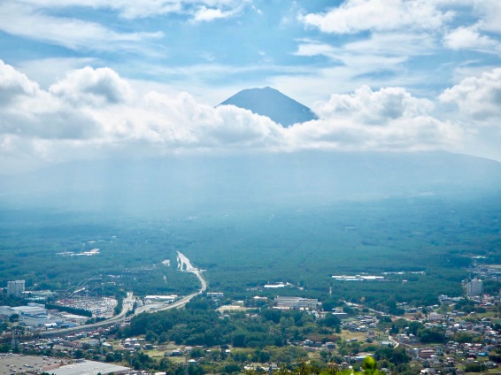 As seen from Mt. Kachikachi in Yamanashi