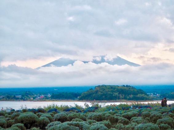 As seen from Oishi Park in Shizuoka